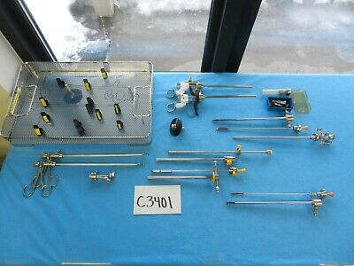 Acmi Surgical Cysto Resectoscope Instrument Set W Tray