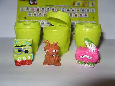 3 Pack-serie (3 Figuren * Trash Pack * Serie 5 * Müllbande * Preziosi * Neu  (e14))