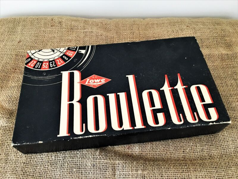 E.S. Lowe Co. 1941 Roulette Game