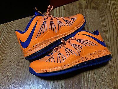 42d70a66545 ... 112′ By DeJesus Customs Nike Air Max Lebron X 10 Low Cavs Sz 12 ...