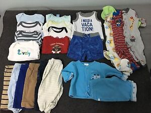 Baby boy clothes lot (0-3Months)