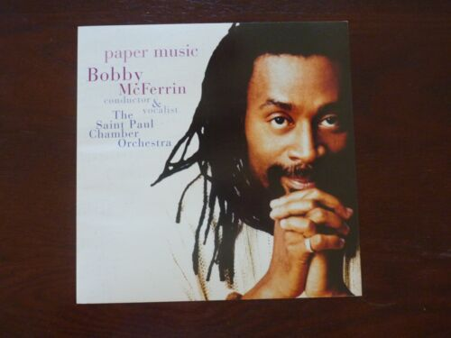 Bobby McFerrin Paper Music LP Record Photo Flat 12x12 Poster