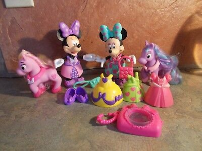 MINNIE MOUSE BOW-TIQUE DRESSED DOLL & HORSE ](Minnie Bowtique Toys)