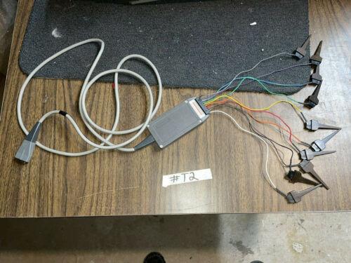 TEKTRONIX P6451 cable Probe Assembly Logic Analyzer #T2