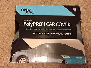 Over Drive PolyPro 1 Car Cover (Compact Sedan)