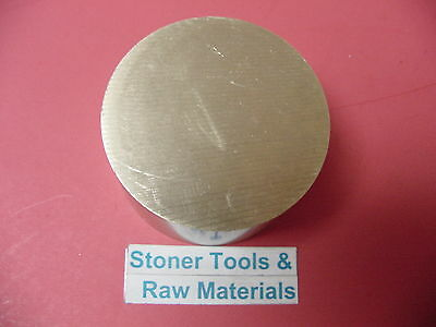 3 C360 Brass Round Rod 1 Long Solid 3.00 Od H02 Lathe Bar Stock Half Hard