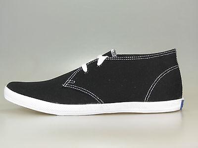 Keds Chukka (Keds Schuhe CHAMPION CHUKKA MF33946 BLACK CANVAS Schwarz +NEU+ viele Größen)