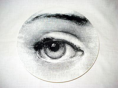 Piero Fornasetti Milano Porzellanteller / Sammelteller: Tema E VARIAZIONI 248