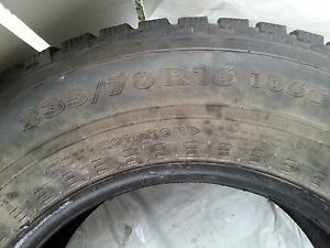 """16 inch set of 4 winter tires""! Edmonton Edmonton Area image 2"