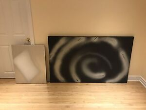 Wall art, original painted canvases