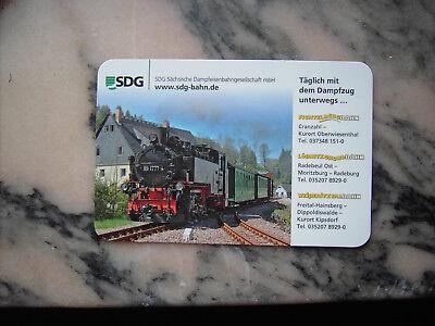 Taschenkalender SDG Sächsische Dampfeisenbahngesellschaft mbH Dampflok 2018