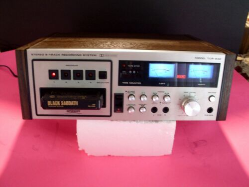 8 TRACK PLAYER MARANTZ SUPERSCOPE (TDR-830)  works perfect  TECH SERVICED
