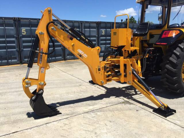 New Hanmey Bhef 225 Backhoe Includes Bucket Kit Farming