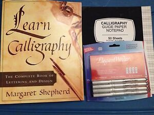 Learn Calligraphy Set- new