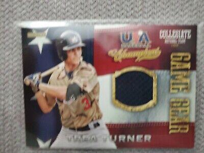 2013 Panini USA Baseball Champions Game Gear Jersey #43 Trea Turner