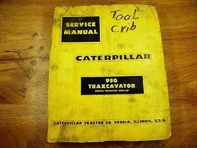 Cat Caterpillar 950 Traxcavtor Wheel Loader Service Manual 90a