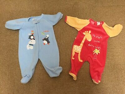 2 X BOYS WALK IN SLEEPERS 0-3 MONTHS for sale  Shipping to South Africa
