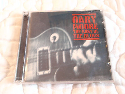 GARY MOORE BEST OF THE BLUES 2-DISC CD BB KING ALBERT COLLINS LIVE IN