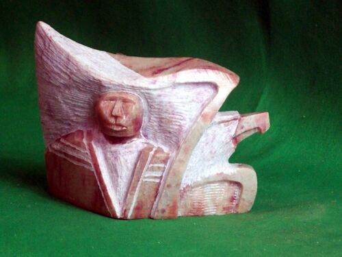 Navajo Contemporary Marble Sculpture by Susie Joe - Gorgeous!