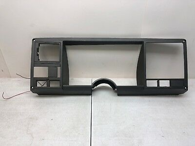 88-94 Chevy Pickup Gauge Cluster Bezel Trim - Dash Cover Plastic