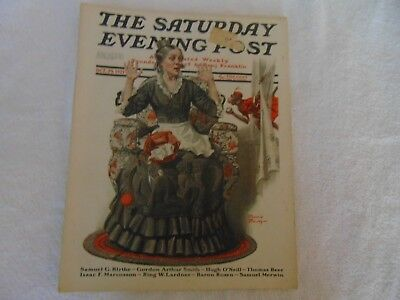 Illustrated  Saturday Evening Post October 29 1921 Stanley Halloween Cover Art](Saturday Evening Post Halloween)
