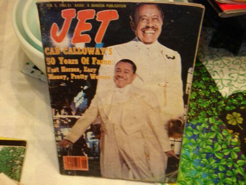 Jet Magazine Feb. 5, 1981  Cab Calloway