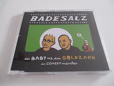 BADESALZ - Das Baby mit dem Goldzahn - PROMO CD in Slimcase - neuwertig - RAR