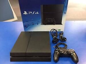 Playstation PS4 500Gb Boxed no inserts Black VGC Adamstown Newcastle Area Preview