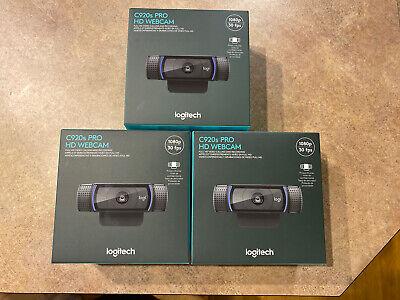 logitech c920s pro hd webcam with privacy shutter