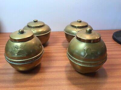 liptons tea caddy Four Brass 1925 1924