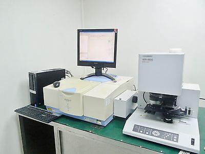 Shimadzu Ir Prestige-21 Ftir Spectrophotometer Aim-8800 Microscope W Atr-8800m