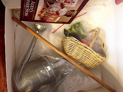 American Girl Pleasant Company Addy Gardening Supplies-Brand NEW in Box!!!