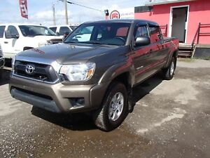 2013 TOYOTA TACOMA DOUBLE CAB LONG BED