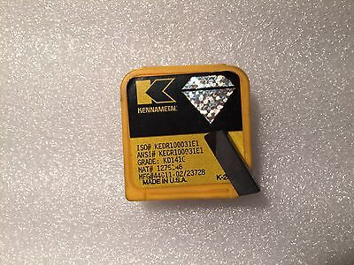 New Kennametal Diamond Pcd Insert Kedr100031e1 Grade Kd1410 1275146