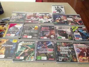 PlayStation PS3 console, controllers & 18 games Winthrop Melville Area Preview