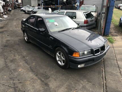 BMW E36 320i 1995 black automatic now wrecking Northmead Parramatta Area Preview