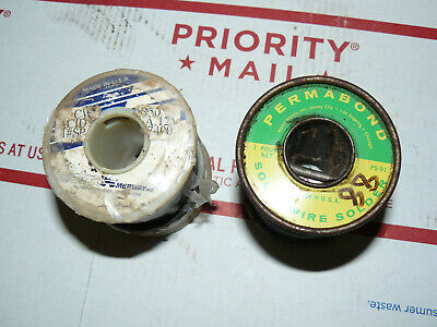 Lot Vintage Solder Permabond Ps 91 Amerway 7490 2 Lbs Free Ship Usa