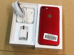 I phone 7 128gb red (warranty&invoice) unlocked '''