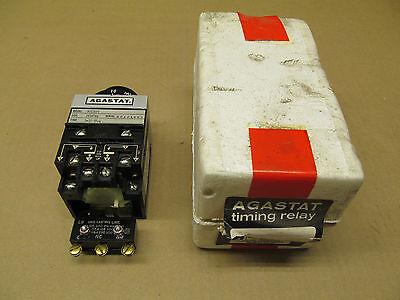 1 Nib Agastat 7012efl Timing Relya 1-10 Min 24v Coil 60 Hz Serial 80121662