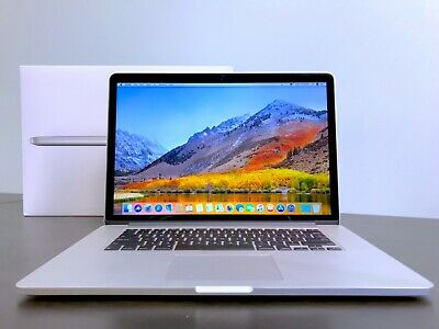 "APPLE MACBOOK PRO 15"" RETINA / QUAD CORE I7 3.7GHZ / 16GB / 1TB SSD / OS2019"