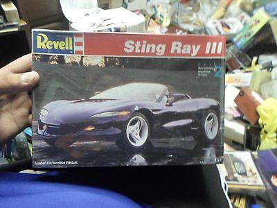 Revell Sting Ray III 1/25 Kit Brand New Sealed
