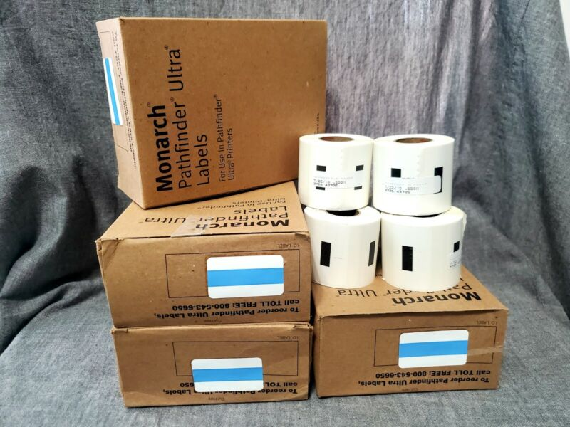 Monarch Pathfinder Ultra Labels 4 Boxes ( 6 rolls ) In each Box