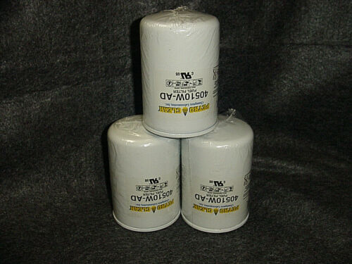 PETRO CLEAR FUEL FILTERS 40510W-AD. LOT OF THREE..