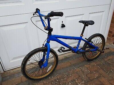 """Schwinn KO 20"""" Inch BMX bike Blue"""