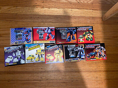 Newage transformers, Third Party Lot Of 9 Figures All New.