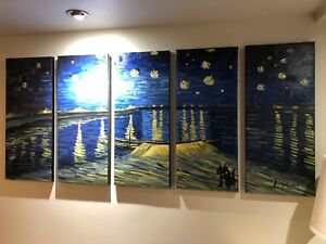 Starry night canvases