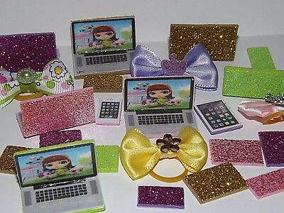 Childrens Clothing Shops (💞Littlest Pet Shop LPS clothes accessories RANDOM Bow laptop  *CAT NOT)
