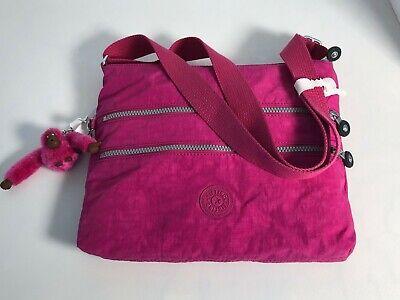 Kipling Alvar Shoulder Bag- Very Berry Brand New with Tags