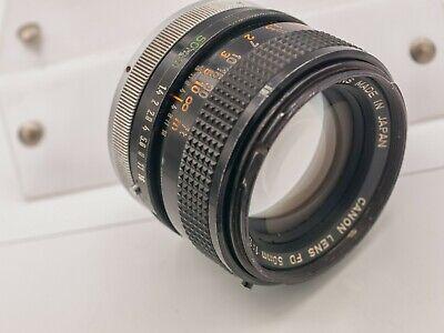 Canon FD 50mm F1.4 S.S.C. Prime Lens For AE-1 A-1 F-1 SLR & Mirrorless Cameras