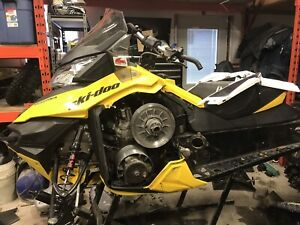 Ski doo parts , parting out 2013,xs chassis 600 etec